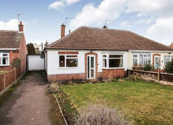 Thumbnail 2 bed semi-detached bungalow for sale in Merton Avenue, Syston, Leicester