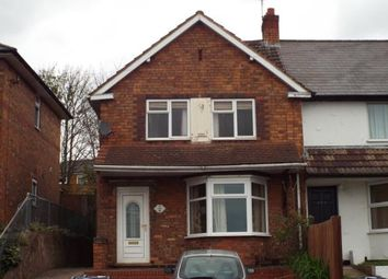 Thumbnail 3 bedroom end terrace house for sale in Bendall Road, Birmingham, West Midlands, Birmingham