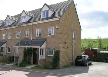 Thumbnail 3 bed town house for sale in Camomile Court, Thornton, Bradford