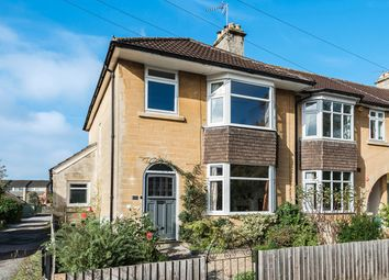 Thumbnail 3 bed end terrace house for sale in Evelyn Road, Bath