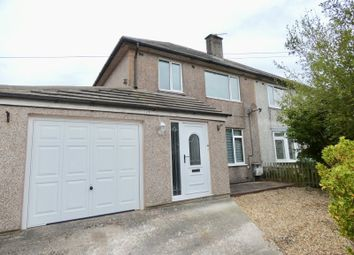Thumbnail 3 bed semi-detached house for sale in Bow Fell Road, Whitehaven, Cumbria