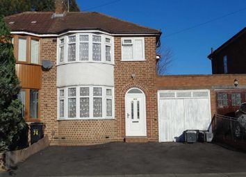 Thumbnail 3 bed semi-detached house to rent in Heathway, Hodge Hill, Birmingham