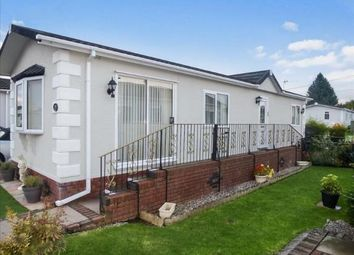 Thumbnail 2 bed mobile/park home for sale in Sunny Bank Park, Sunnybank, Lapley, Stafford