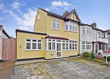 Thumbnail 3 bed semi-detached house for sale in Purbeck Road, Hornchurch, Essex
