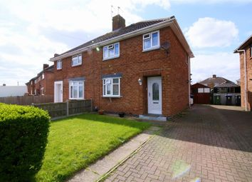 Thumbnail 3 bed semi-detached house for sale in Bucknill Crescent, Hillmorton, Rugby