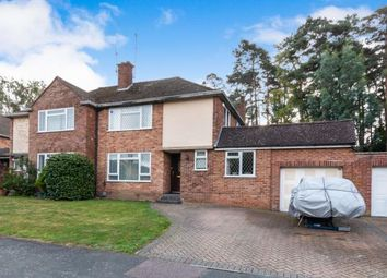 Thumbnail 3 bed semi-detached house for sale in Camberley, Surrey, .