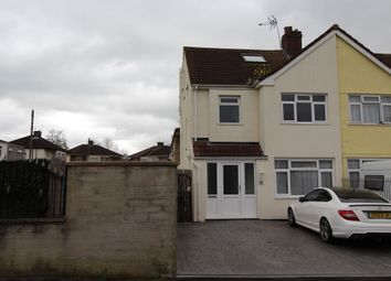 Thumbnail 4 bed end terrace house for sale in Wharncliffe Gardens, Whitchurch, Bristol