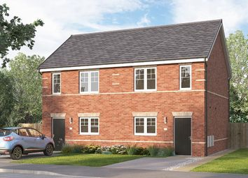 "Thumbnail 2 bed semi-detached house for sale in ""The Beckbridge"" at St. Catherines Villas, Wakefield"
