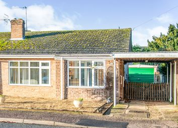 Thumbnail 2 bed semi-detached bungalow for sale in John O'gaunt Close, Aylsham, Norwich