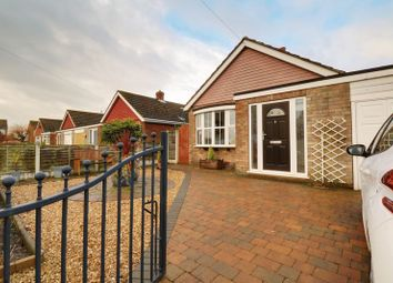 Thumbnail 3 bed detached bungalow for sale in Leaburn Road, Messingham, Scunthorpe