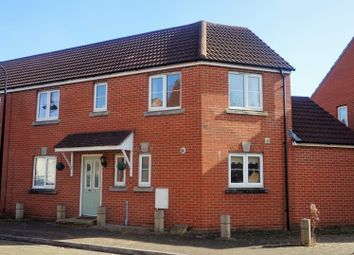 Thumbnail 3 bed semi-detached house for sale in Worle Moor Road, Weston Village