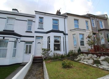 Thumbnail 2 bed terraced house for sale in West Hill Road, Mutley