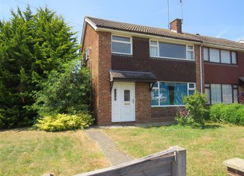 Thumbnail 3 bed semi-detached house for sale in St Laurence Way, Stanwick, Wellingborough