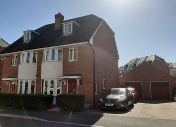 Thumbnail 4 bed semi-detached house for sale in Fitzgerald Road, Northampton
