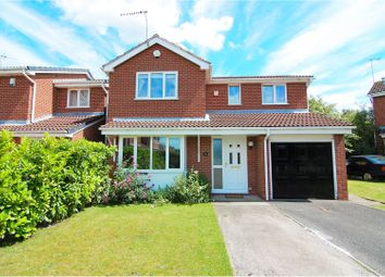 Thumbnail 4 bed detached house for sale in Studland Way, West Bridgford