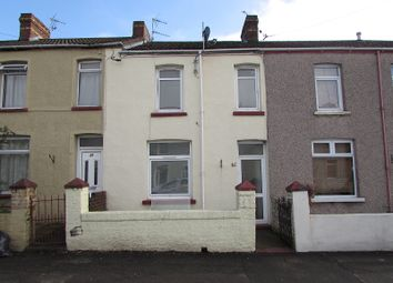 Thumbnail 3 bed terraced house to rent in Cemetery Road, Bridgend