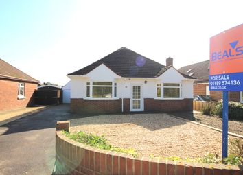 Thumbnail 4 bedroom detached bungalow for sale in Barnes Lane, Sarisbury Green, Southampton
