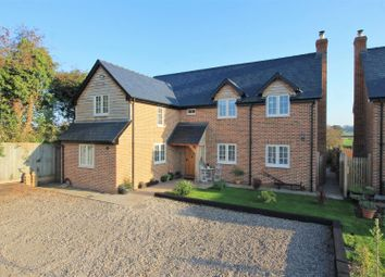 Thumbnail 4 bedroom detached house for sale in Paradise Green, Hereford