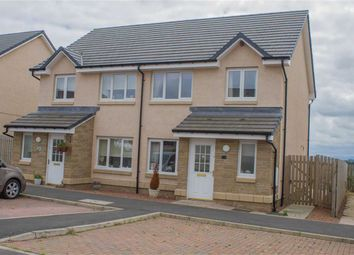 Thumbnail 3 bed semi-detached house for sale in Whitehall Road, Chirnside, Berwickshire