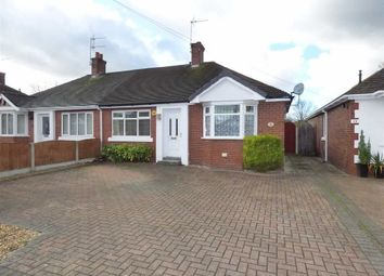 Thumbnail 2 bed semi-detached bungalow for sale in Hassall Road, Alsager, Stoke-On-Trent