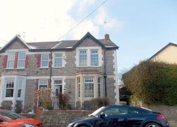 Thumbnail 3 bed semi-detached house for sale in Elm Grove Road, Dinas Powys