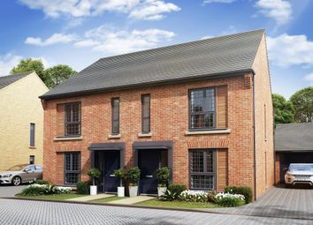 "Thumbnail 3 bedroom terraced house for sale in ""Belvoir"" at Louisburg Avenue, Bordon"