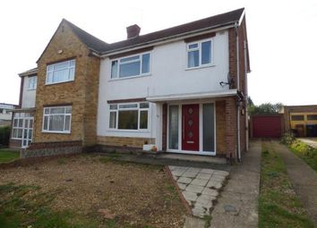 Thumbnail 3 bed semi-detached house for sale in Chiltern Avenue, Duston, Northampton, Northamptonshire