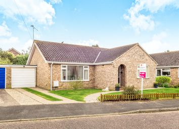 Thumbnail 3 bedroom bungalow for sale in Kennedy Close, Toftwood, Dereham