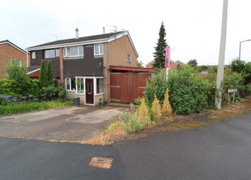 Thumbnail 3 bed semi-detached house for sale in Llys Road, Oswestry