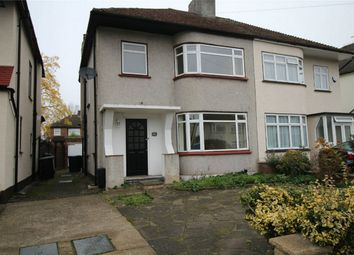 Thumbnail 3 bed semi-detached house to rent in Apple Grove, Enfield, Middlesex