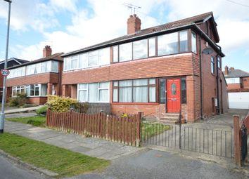 Thumbnail 4 bedroom semi-detached house to rent in Henconner Crescent, Chapel Allerton, Leeds, West Yorkshire.