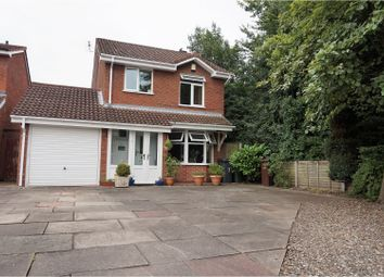 Thumbnail 3 bed detached house for sale in Titchfield Close, Wolverhampton