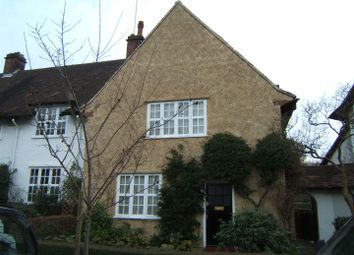 Thumbnail 3 bedroom terraced house to rent in Asmuns Hill, Hampstead Garden Suburb