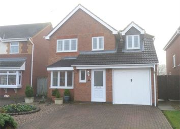 Thumbnail 3 bed detached house for sale in Jasmine Close, Lutterworth