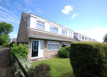 Thumbnail 3 bed semi-detached house to rent in Gloucester Court, Brunton Bridge, Newcastle Upon Tyne