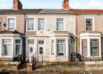 Thumbnail 3 bed terraced house for sale in Keppoch Street, Cardiff, Cardiff