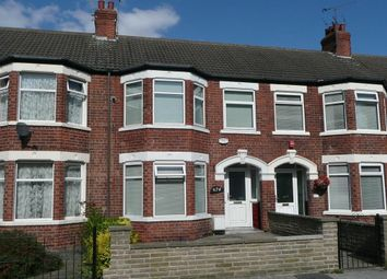 Thumbnail 3 bedroom terraced house to rent in Albert Avenue, Anlaby Road, Hull