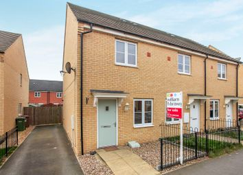 Thumbnail 2 bedroom end terrace house for sale in Apollo Avenue, Farcet, Peterborough