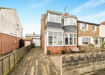 Thumbnail 3 bed semi-detached house for sale in Wellington Avenue, Wellfield, Whitley Bay