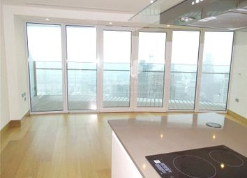 Thumbnail 2 bed flat to rent in Arena Tower, Canary Wharf, London