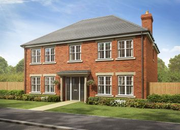 "Thumbnail 5 bedroom detached house for sale in ""The Portland "" at Ashford Hill Road, Ashford Hill, Thatcham"