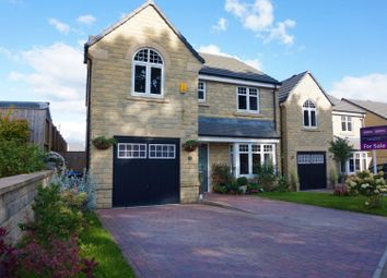 Thumbnail 4 bed detached house for sale in Old Mill Dam Lane, Queensbury