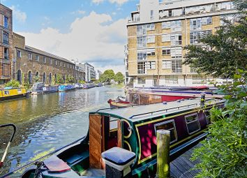 Thumbnail 1 bed houseboat for sale in Wenlock Basin, Wharf Road, London