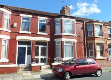 Thumbnail 3 bed terraced house to rent in Curzon Avenue, Birkenhead