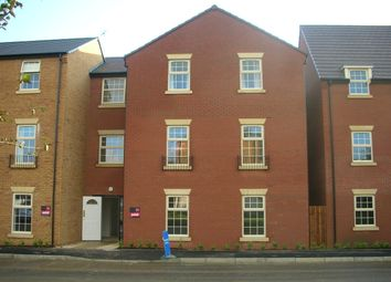 Thumbnail 2 bed flat to rent in Outfield Close, Corby