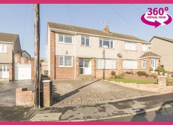 Thumbnail 4 bedroom semi-detached house for sale in Penylan Close, Bassaleg, Newport