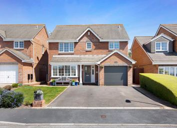 Thumbnail 4 bed detached house for sale in Ivydale, Exmouth
