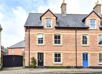 Thumbnail 4 bed end terrace house for sale in Headland Warren, Poundbury, Dorchester