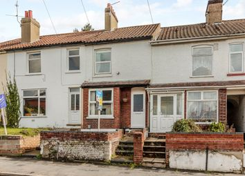 Thumbnail 3 bed terraced house for sale in Silver Road, Norwich, Norfolk