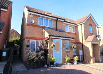Thumbnail 2 bed semi-detached house for sale in Jewsbury Way, Leicester